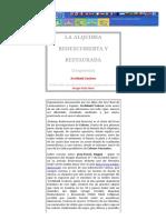 La Alquimia Redescubierta y Restaurada
