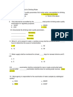 Test Questions PNSDW