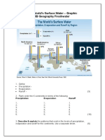 The Worlds Surface Water Graphic and Questions