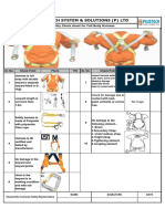 Check List for Safety Harness
