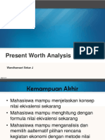 4. Present Worth Analysis