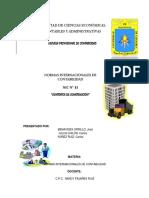 NIC 11 - CONTRATOS DE CONSTRUCCION