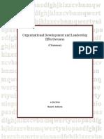 organizationaldevelpmentandleadershipeffectivenessasummary-140628082709-phpapp02