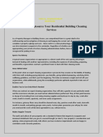 5 Reasons to Outsource Your Residential Building Cleaning Services.docx