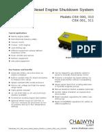 Datasheet CSX 300 Series