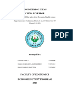 Idea Engineering English Economics