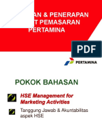 Kebijakan & Penerapan HSE Pertamina Pemasaran.pptx