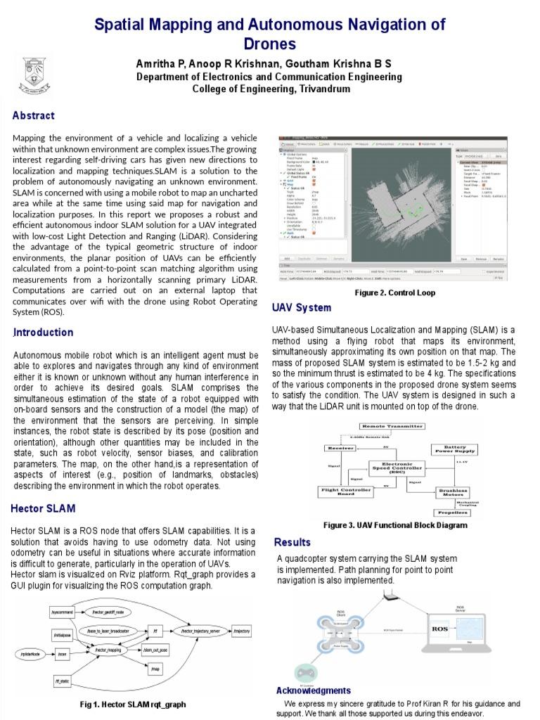 PosterSample(2)   Unmanned Aerial Vehicle   Lidar