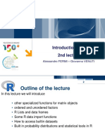 R Lectures 2