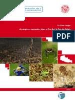 La liste rouge des araignée dans le Nord et le Pas-de-Calais