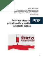 Reforma neoliberal de la educación