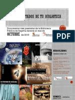Los + de la Biblioteca Pública de Segovia (octubre de 2018)
