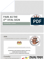 pain as 5th vital sign