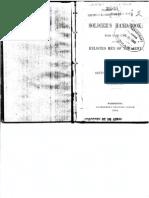 Soldier Handbook 1884r