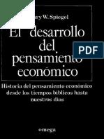 Spiegel Henry - El Desarrollo Del Pensamiento Economico(1).pdf