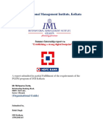Introduction Hdfc