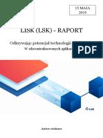 Lisk (LSK) - RAPORT by Stokarz