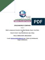 SHILOHWORLD COMPANY