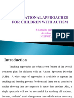 EDUCATIONAL APPROACHES FOR CHILDREN WITH AUTISM.ppt