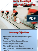 5.Organizational Changes