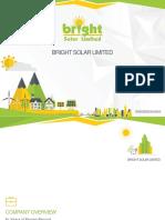 Bright Solar - Company Overview