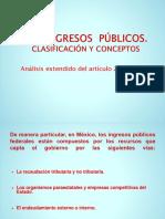 Los Ingresos Públicos. Clasificación y Conceptos