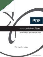 Camino Al Minimalismo Omar Carreno