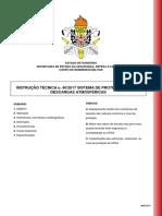 It n 40 - Sistema de Protecao Contra Descargas Atmosfericas
