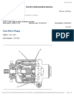 (SEBP3655 - ) - Fan Drive Pump Specifications