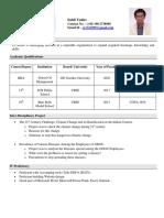 Sahil Yadav Resume PDF
