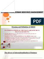 Introduction to IHRM