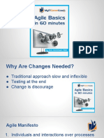 Agile Basics in 60minutes
