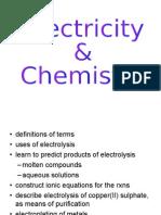 Electrolysis Ppt