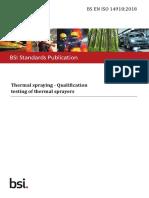 BS EN ISO 14918-2018