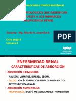 Clase4_im Factores Patologicos Que Modifican La Respuesta a Los Farmacos Insuficiencia Renal