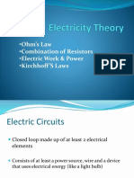 Electricity Ppt Presentation Modified