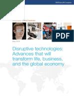 MGI Disruptive Technologies Executive Summary May2013