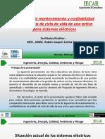 Ingeniería de Mantenimiento y Confiabilidad en el Análisis de Ciclo de Vida de Activos de Sistemas Eléctricos