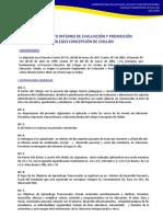Reglamento Interno de Eval y Promoción