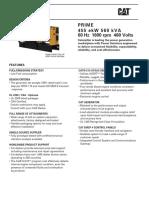 Manual Generador CAT C15 Ibagué