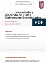 P5 - Ordenamiento y recorrido de Listas Doblemente Encadenadas.pptx