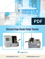 Closed Cup Flash Point Tester