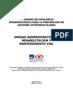 THU-S-De-006 Programa de Vigilancia Epidemiologica Lesiones Osteomusculares v 1.0
