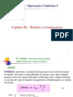 Capítulo III Bombas NPSH03