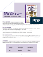 Ada Twist and the Perilous Pants Teaching Guide