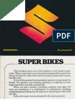 Suzuki Range Brochure 1978