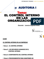 CLASE - El Control Interno