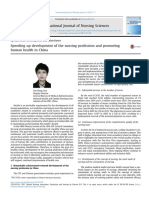 04 Speeding Up Development of the Nursing Profession in China