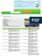 Devis Entretien Peugeot Partner 1