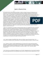 Consensos de Washington y Buenos Aires